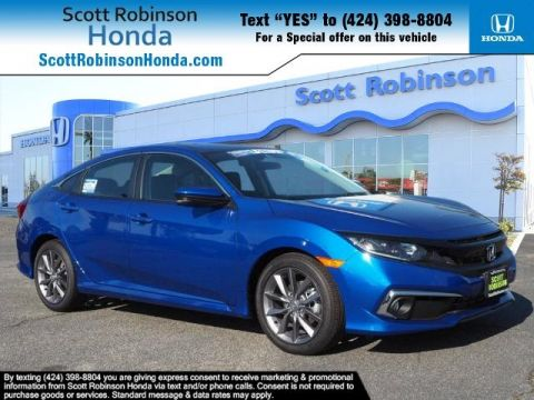 New 2019 Honda Civic EX 4D Sedan