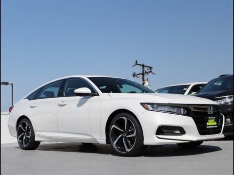 New 2019 Honda Accord Sport 2.0T 4D Sedan