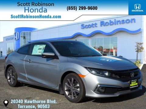 New 2019 Honda Civic EX 2D Coupe